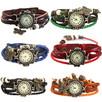 NOWY piękny zegarek-bransoletka w kolorze czerwony, czarnym