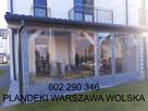 Warszawa, zadaszenia plandekowe, altan, werand, ogródki rest - 10