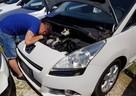 Sprawdzenie auta zakupem kontrolowany auto samochod pomoc