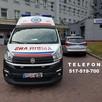 Przewóz chorych Prywatna karetka Transport medyczny Warszawa