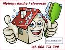 Mycie elewacji i dachu
