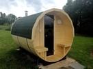 Jedyna taka Sauna Ogrodowa Beczka 250 Komplet Impregnacja - 1