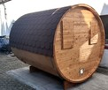 Jedyna taka Sauna Ogrodowa Beczka 250 Komplet Impregnacja - 2