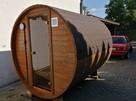 Jedyna taka Sauna Ogrodowa Beczka 250 Komplet Impregnacja - 3