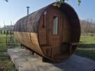 Jedyna taka Sauna Ogrodowa Beczka 250 Komplet Impregnacja - 5