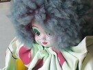 Stara lalka - Klaun Clown Pajac Vintage Retro