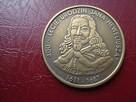 1 Heweliusz 2011 mosiądz oksydowana moneta zastępcza