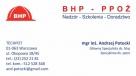 Usługi w zakresie: bhp i ppoż - nadzór, szkolenia