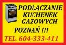HYDRAULIK MONTAŻ KUCHENEK GAZOWYCH POZNAŃ TANIO 70zł Poznań
