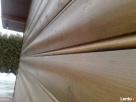 piękna elewacja drewniana pólokrągła - 1
