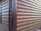 piękna elewacja drewniana pólokrągła - 3