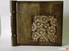 Albumy drewniane, rzeźbione, stylwe wykonam na zamówienie