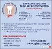 stomatologia, wpisowe 0 zł - 1