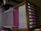 Komplet pościeli dla niemowlaka z różową osłonką na łóżeczko - 1