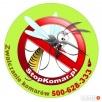 Zwalczanie komarów, meszek, kleszczy -oprysk terenów - 3