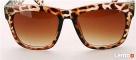 Damskie okulary przeciwsłoneczne - Leopard