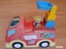 Samochód strażacki na baterie oraz strażak - 1