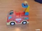 Samochód strażacki na baterie oraz strażak - 4