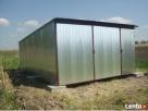 Garaż Blaszany 4x6 WZMOCNIONY PRODUCENT Pilchowice