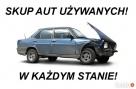 Auto skup kasacja! Bydgoszcz osobowe dostawcze Gotówka! Bydgoszcz
