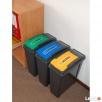 Zestaw 3 koszy do segregacji śmieci do biura , domu, urzędu - 3