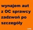BEZGOTÓWKOWY wynajem aut zastępczych z OC sprawcy Piaseczno