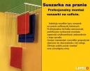 SUSZARKA sufitowa na pranie-profesjonalny montaż. - 2