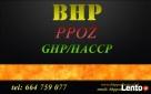 Usługi BHP HACCP GHP Łapy, Wysokie Mazowieckie, Ciechanowiec - 1
