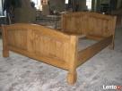 Drewniane SOLIDNE Łóżko AC 05 PRODUCENT 669-125-410 - 2