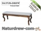 Ławka Drewniana Tapicerowana PRODUCENT 669-125-410 - 1