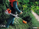 Koszenie, wykaszanie, karczowanie trawy oraz chwastów kosą - 2
