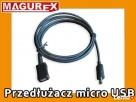 Przedłużacz Micro USB o długości 2m do tablet telefon Piastów