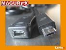 Przedłużacz / Adapter Mini USB na Micro USB 50cm Piastów