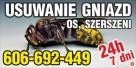 OSY SZERSZENIE Usuwanie gniazd os szerszeni 606-692-449 Opole
