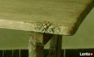 OKAZJA - Rzeźbiony stolik kawowy - 3