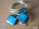 kabel przejściówka z usb na drukarke 2 szt - 1