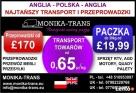 Monika-Trans NajtańszyTransport i Przeprowadzki w UK-PL - 1