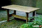 Stylowy stół z litego drewna, ręcznie rzeźbiony - 1