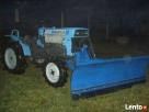 Pług do śniegu mini traktor iseki yanmar kubota