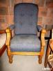 TRON krzesło fotel sosnowy dębowy Koło