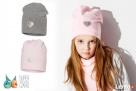 Czapki dla dzieci dziewczynki na jesień zimę Broel 37-57 - 1