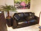 sofa skórzana czarna Świdnica