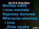 montaż mebli. Naprawy domowe. i inne montaże. Warszawa