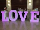 Największy na rynku podświetlany napis LOVE jako stół słodko - 4