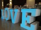 Największy na rynku podświetlany napis LOVE jako stół słodko - 2