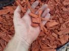 Zrębki kolorowe do ogrodu worek 50 litrów - 8