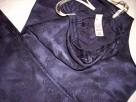 BHS Spodnie do Spania Żakard Satyna Granat 40 42 j Nowe - 5