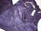 BHS Spodnie do Spania Żakard Satyna Granat 40 42 j Nowe - 6