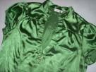 ORSAY koszula bluzka zieleń stójka Satyna 40 L - 4