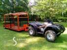 Przyczepka wielofunkcyjna do quada, ciagnika, traktorka - 1